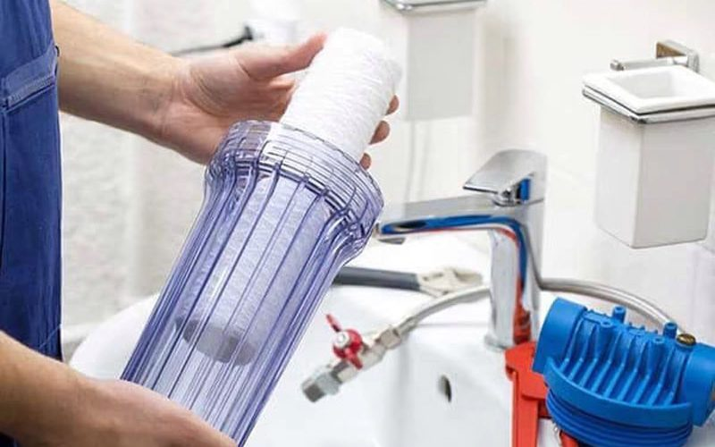 Purificador de água manutenção